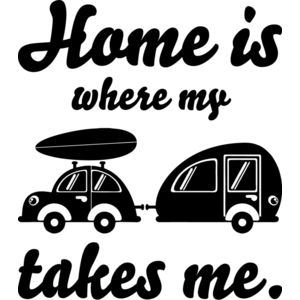 Home is where my camper takes me Miniaturansicht