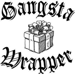 Gangsta Wrapper schwarz Miniaturansicht